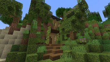 Cliff Cottage Minecraft Map & Project