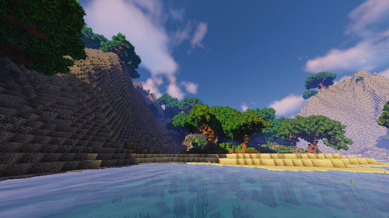 Beach View With Shaders