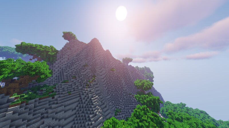 Mountain View With Shaders