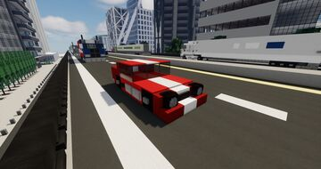 Shelby Charger Minecraft Map & Project