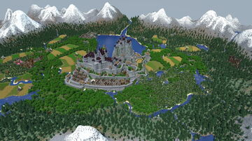 Snowcoal's 400 Hour Medieval Kingdom Project [Free Download] Minecraft Map & Project
