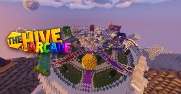 The Hive Arcade + Cranked & Jump n' run | HiveMC Classic Arcade December 2013 replica Minecraft Map & Project