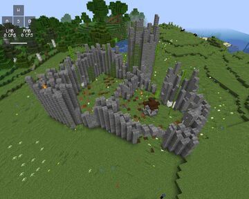 Castle ruins Minecraft Map & Project