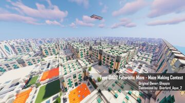 Type-OA02 Futuristic Maze - Maze Making Contest Minecraft Map & Project