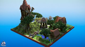 Medieval Spawn - HCF Minecraft Map & Project