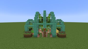 Simple Greenhouse II Minecraft Map & Project