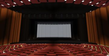 The Next Theater (Mods 1.7.10) (For Plays!!) Minecraft Map & Project
