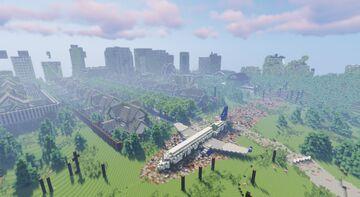 The Dead Earth[DOWNLOAD] Open world Zombie apocalyspe 1.16+ READ DESCRIPTION Minecraft Map & Project