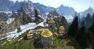 Mzulft, dwemer ruin V2, full interior (Skyrim TES) Minecraft Map & Project