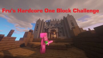 Fru's Hardcore One Block Challenge (BEDROCK EDITION Only) Minecraft Map & Project