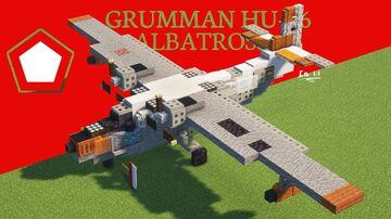 Grumman HU-16 Albatross Minecraft Map & Project