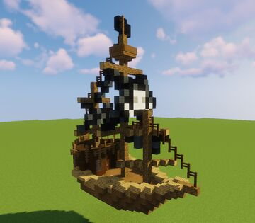 Pirate Ship 2 Minecraft Map & Project