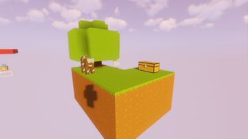 SkyBlock For 2 players Minecraft Map & Project
