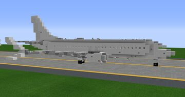 Boeing 737 Max 8 - 1.25:1 Scale Minecraft Map & Project
