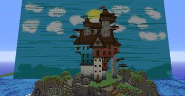 Sea Hotel Minecraft Map & Project