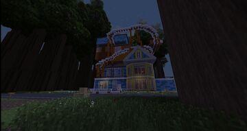 [1.7.10] Hello Neighbor Alpha 3 and Alpha 2 Minecraft Map & Project