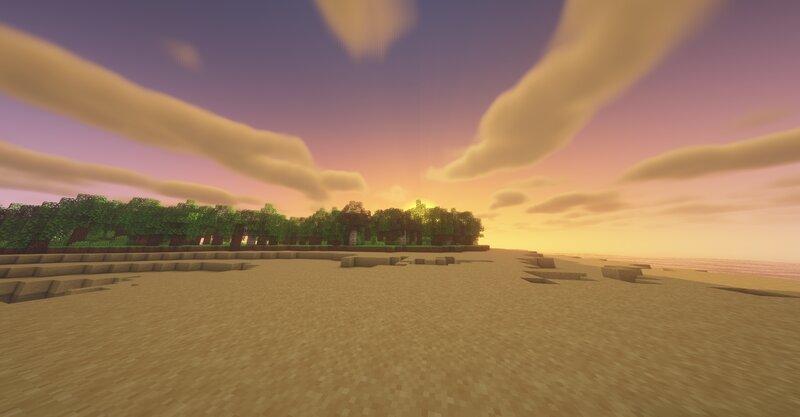 Morning on the beach