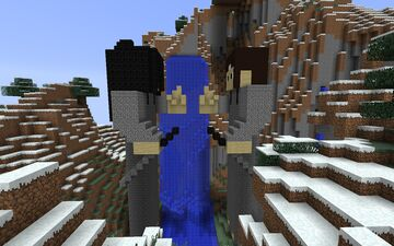 Valle dell'epilogo-Naruto Minecraft Map & Project