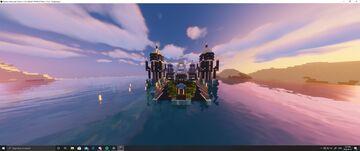 Futuristic Base Minecraft Map & Project