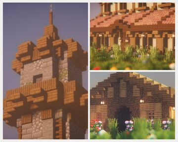 Medieval Structure Pack #1 Minecraft Map & Project