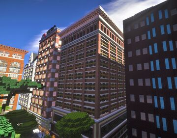 Historical american building 2 Minecraft Map & Project