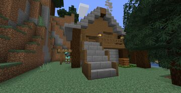 MINECRAFT SURVIVAL HOUSE Minecraft Map & Project