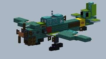 Junkers Ju 87 Stuka dive bomber [With Download] Minecraft Map & Project