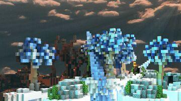 Ice vs Fire - SkyWars Minecraft Map & Project