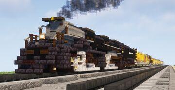 1.5:1 Scale Union Pacific Big Boy #4014 Excursion Train Minecraft Map & Project
