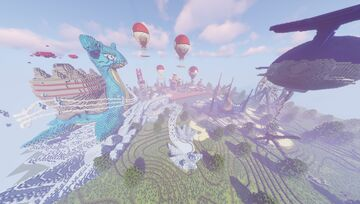 Odyssey Pokemon Event Island ( Commission by Magma Build Team ) Minecraft Map & Project