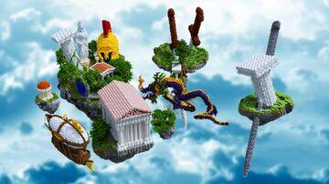 Greek spawn Minecraft Map & Project