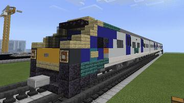 British Rail Class 195 DMU Northern Rail Minecraft Map & Project