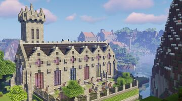Red Castle updated version 3.0 Minecraft Map & Project