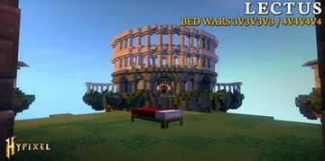 [Hypixel Bedwars] Lectus Maps [Free Download] 1.8+ Minecraft Map & Project