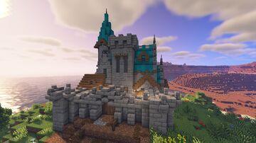 MEDIEVAL CASTLE / Castillo medieval Minecraft Map & Project