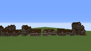 Medieval Town Collection 1 Minecraft Map & Project