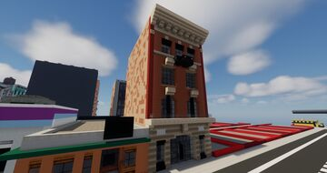 Manhattan Style row building Minecraft Map & Project