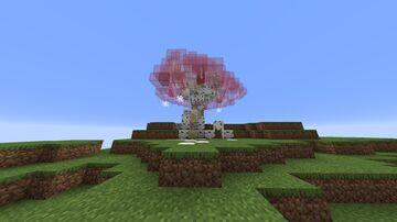 Sakura Tree Minecraft Map & Project