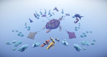 Sea Turtle Ultra Skywars Map Minecraft Map & Project