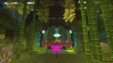 Hide And Seek : Ufo Jungle Minecraft Map & Project