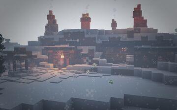 Hobbit Hole under the Tundra [1.17.1] Minecraft Map & Project