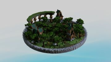 Medieval || spawn || 1.16.x Minecraft Map & Project