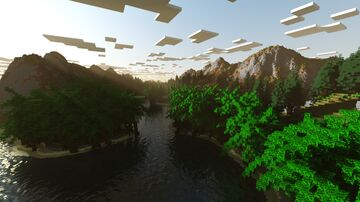 Bismuth Bay (Custom Terrain + Free Download) Minecraft Map & Project