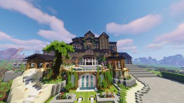 Mansion Minecraft Map & Project