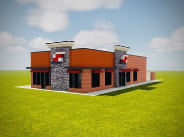 Dairy Queen Minecraft Map & Project