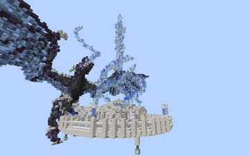 Ice Dragon Waiting Lobby [Free Download] Minecraft Map & Project