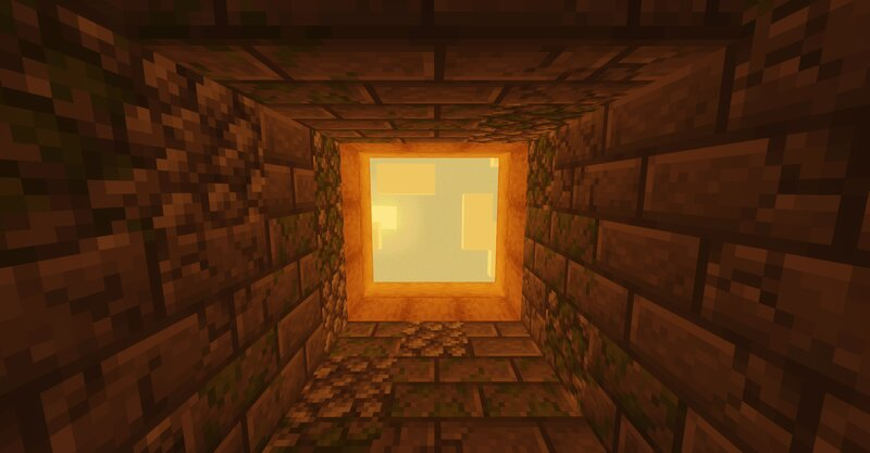 this is the hallway section, imitating the well horizontally
