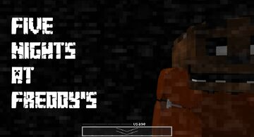 FNAF1 | Five Nights At Freddy's #1 Minecraft Map & Project