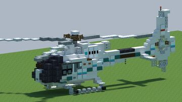 Airbus/Eurocopter EC 120B Colibri, Helicopter [With Download] Minecraft Map & Project