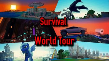7+ year survival world...ps4 bedrock Minecraft Map & Project